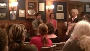 Emily Bazelon at Mory's